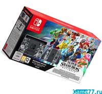 Комплект Nintendo Switch (Grey) Super Smash Bros. Ultimate Edition