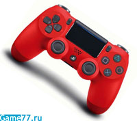 DualShock 4 (Red) V2