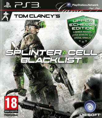 Tom Clancy`s Splinter Cell: Blacklist Upper Echelon Edition (PS3)