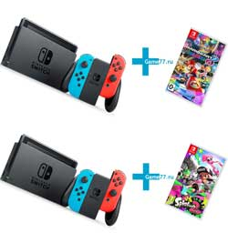 Приставки Nintendo Switch