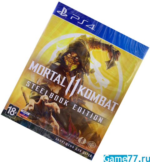 Mortal Kombat 11 Steelbook Edition (PS4)