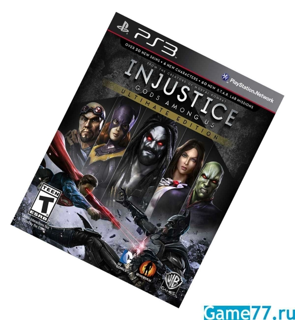 Injustice Ultimate Edition (PS3)