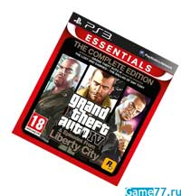 Grand Theft Auto IV (4): The Complete Edition (PS3)