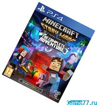 Minecraft Story Mode - The Complete Adventure (PS4)